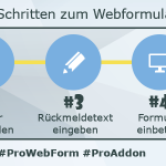 """In 5 steps to a web form - """"Boost your CRM"""""""