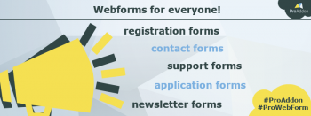 webforms easy data integration