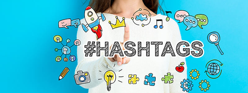 Marketinglisten Hashtags